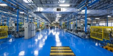 Stabilimento industriale, interno
